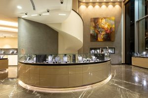 Design and build project: Al Zain Jewellery Jeddah