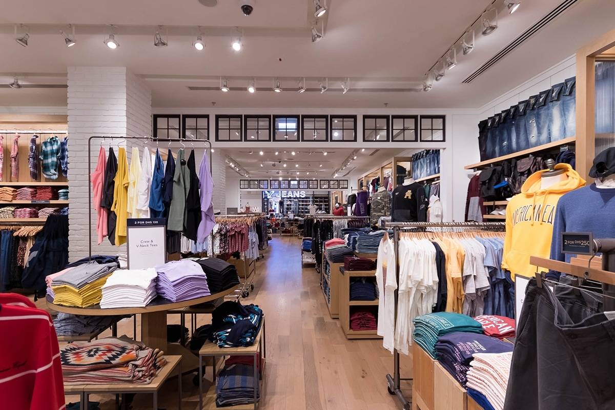 38b048e436f American Eagle Outfitters | Havelock One Interiors Fit-out Project