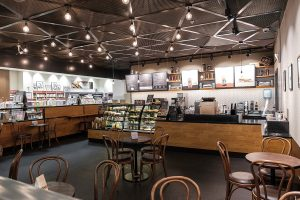 Starbucks at Borders, Dubai Festival City