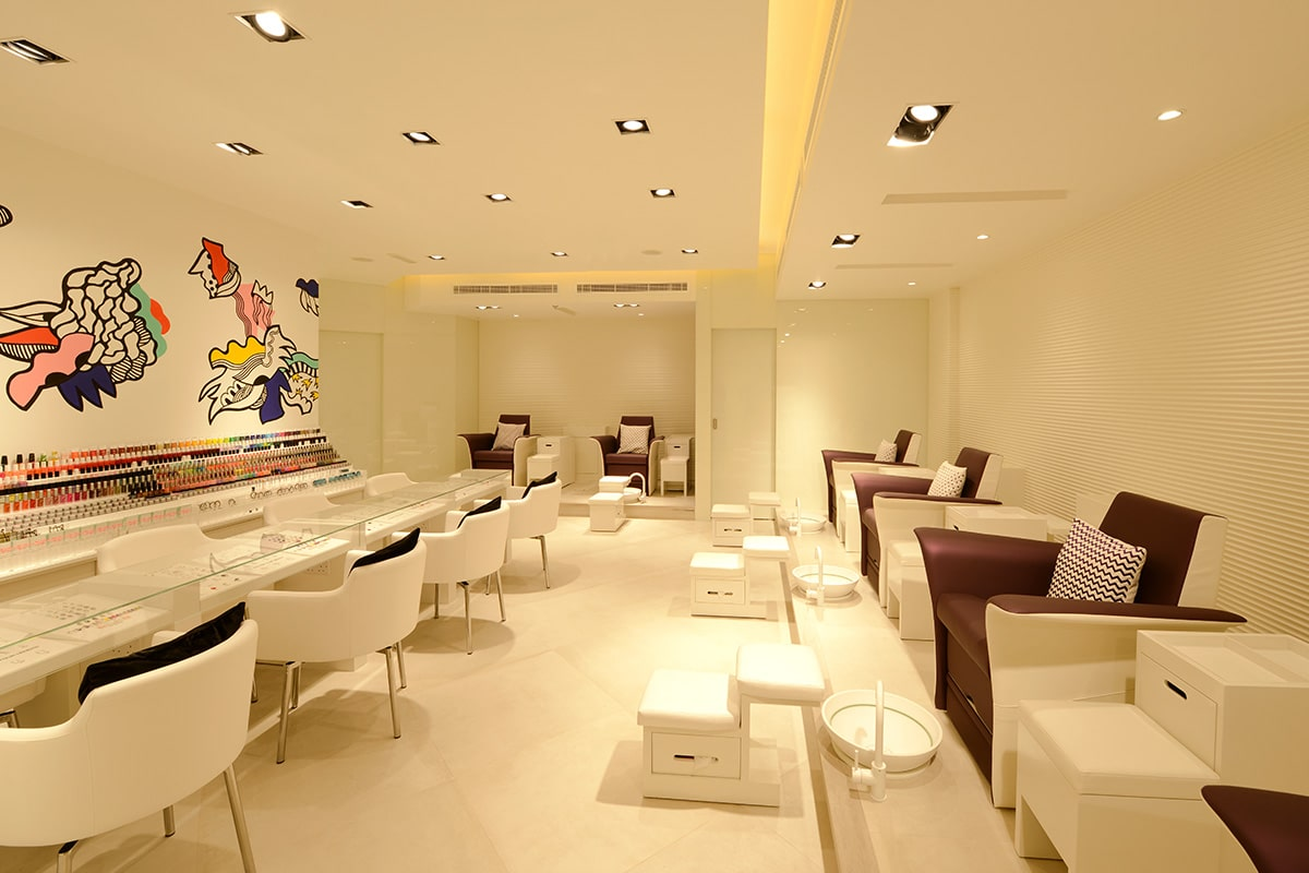 The Nail Spa In The Uae Havelock One Interiors Fit Out Project