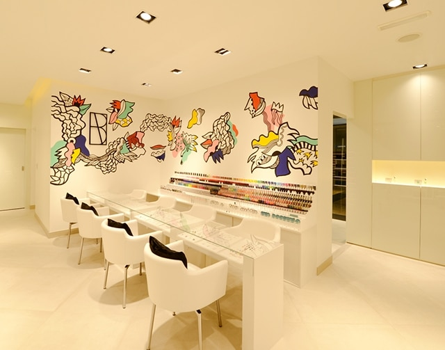 Marvelous The Nail Spa In The Uae Havelock One Interiors Fit Out Project Home Interior And Landscaping Ologienasavecom
