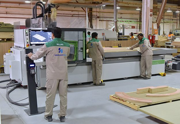 Biesse CNC router machine