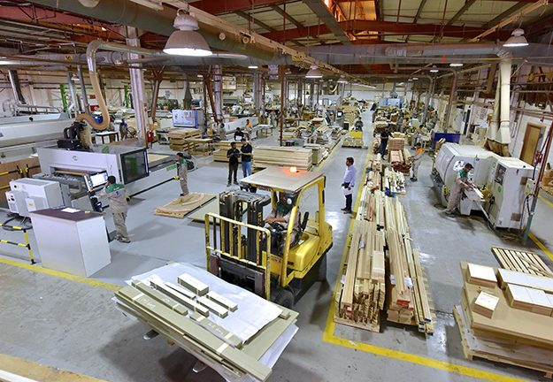 Havelock One's Askar manufacturing facility – millwork area