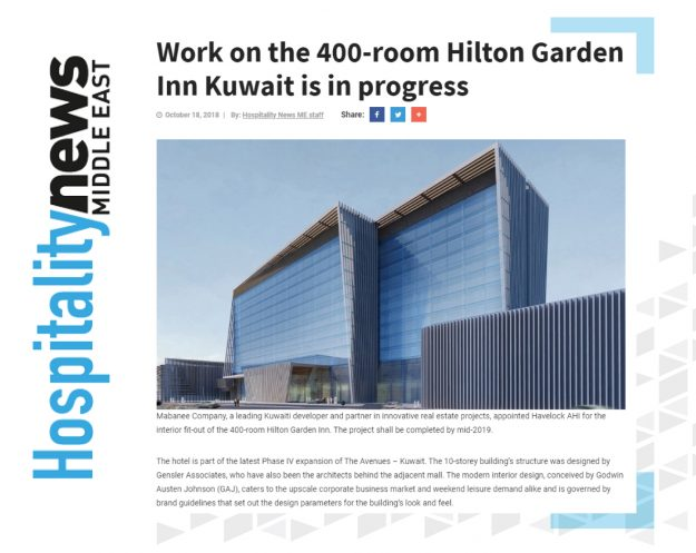 Hilton Garden Inn - Havelock One