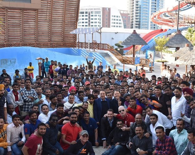 Our Askar factory employees, their supervisors and managers gathered at Wahooo! Waterpark for a fun-filled team building event.
