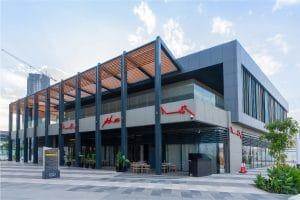 Asha's at Ajdan Walk | Design by LW, Images by Jamal Al Mousa / 360° KSA