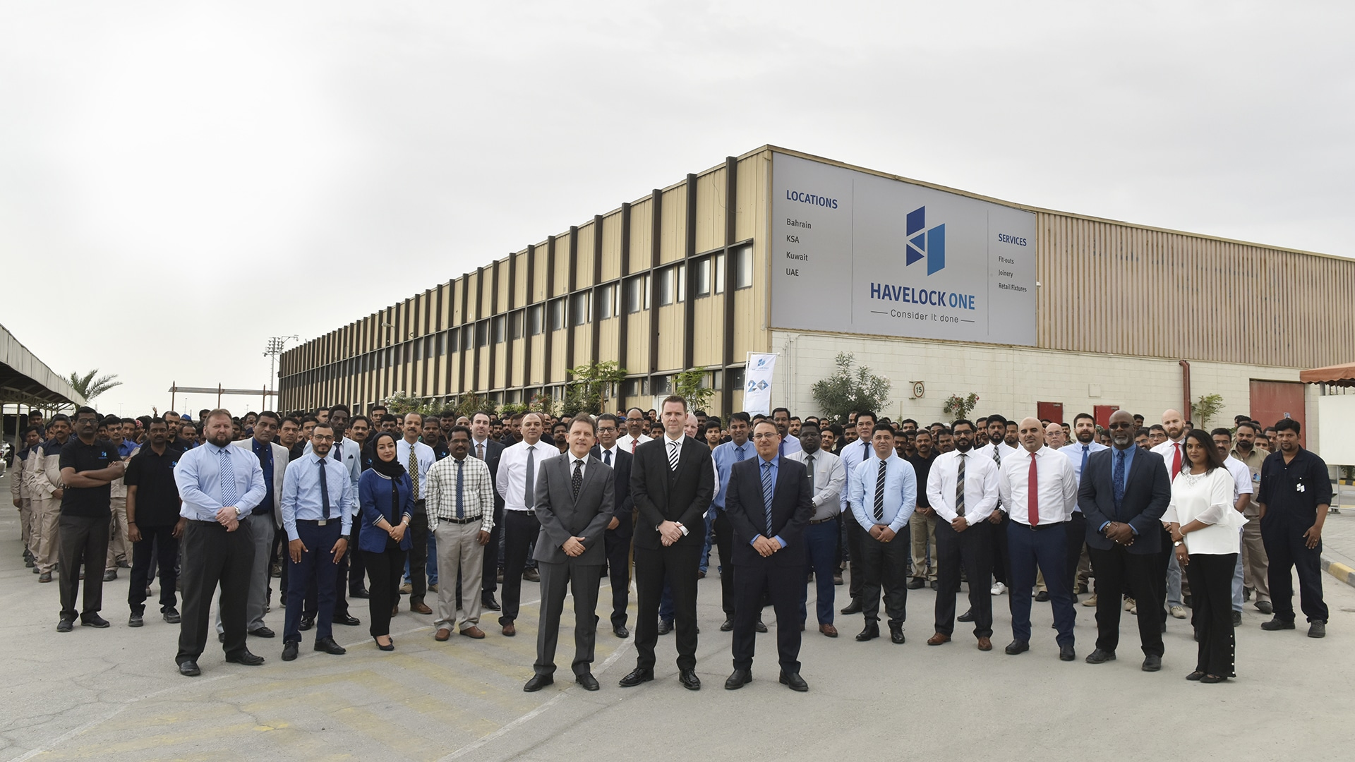 Havelock One operations hub in Askar, Bahrain