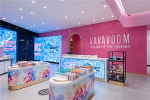 VaVaVoom flagship store at The Avenues - Kuwait