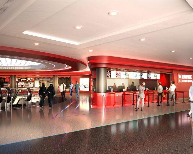 Empire Cinemas, rendering for multiplex in Madina