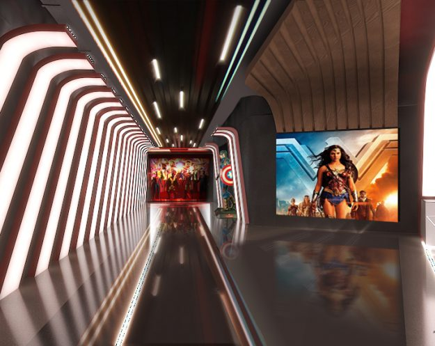 Empire Cinemas, rendering for multiplex in Al Ahssa