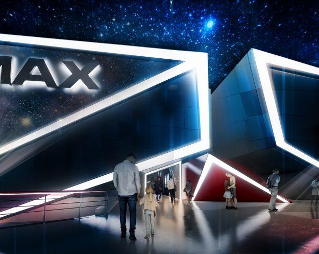 Empire Cinemas, rendering for multiplex in Riyadh